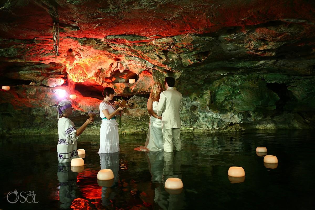 Cenote Cosmic Wedding