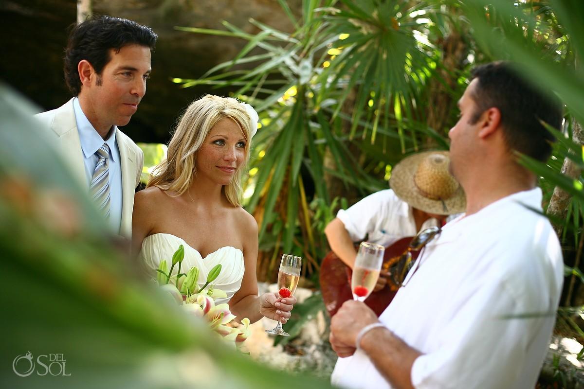 Cenote Cosmic Wedding photos