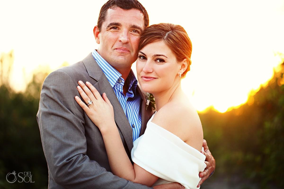 Rosewood Mayakoba Destination Wedding Couple