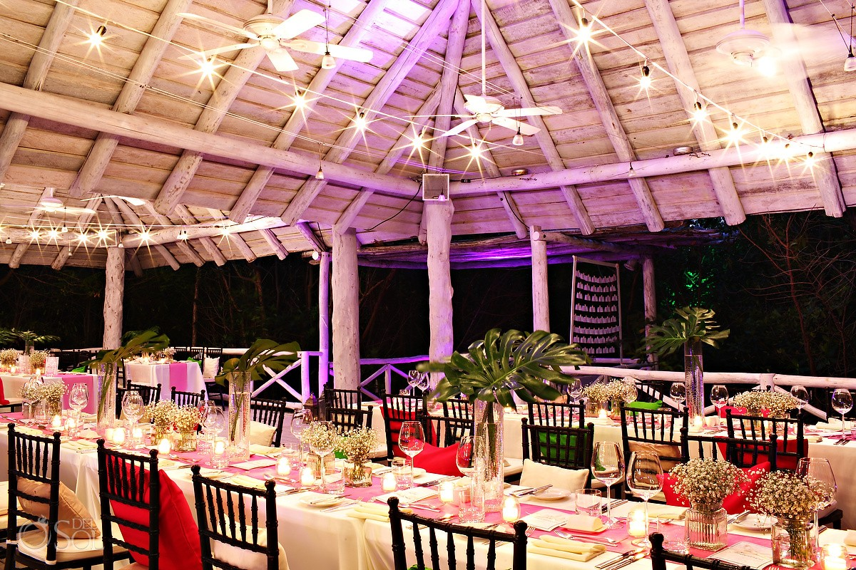 Reception: Banyan Tree Mayakoba - MK Blue Beach Club