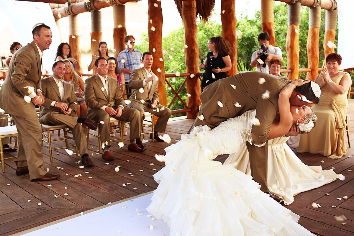 Gazebo wedding at Paradisus playa del carmen