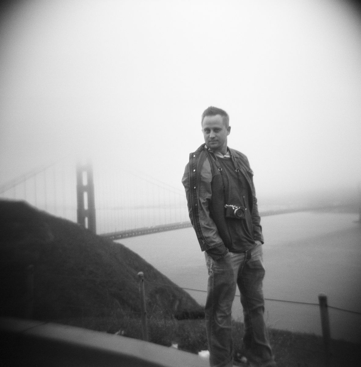 Matt Adcock, photo by Ben Chrisman, San francisco California golden gate bridge