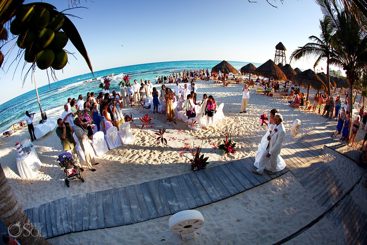 Riviera Maya Destination Wedding Iberostar Paraiso