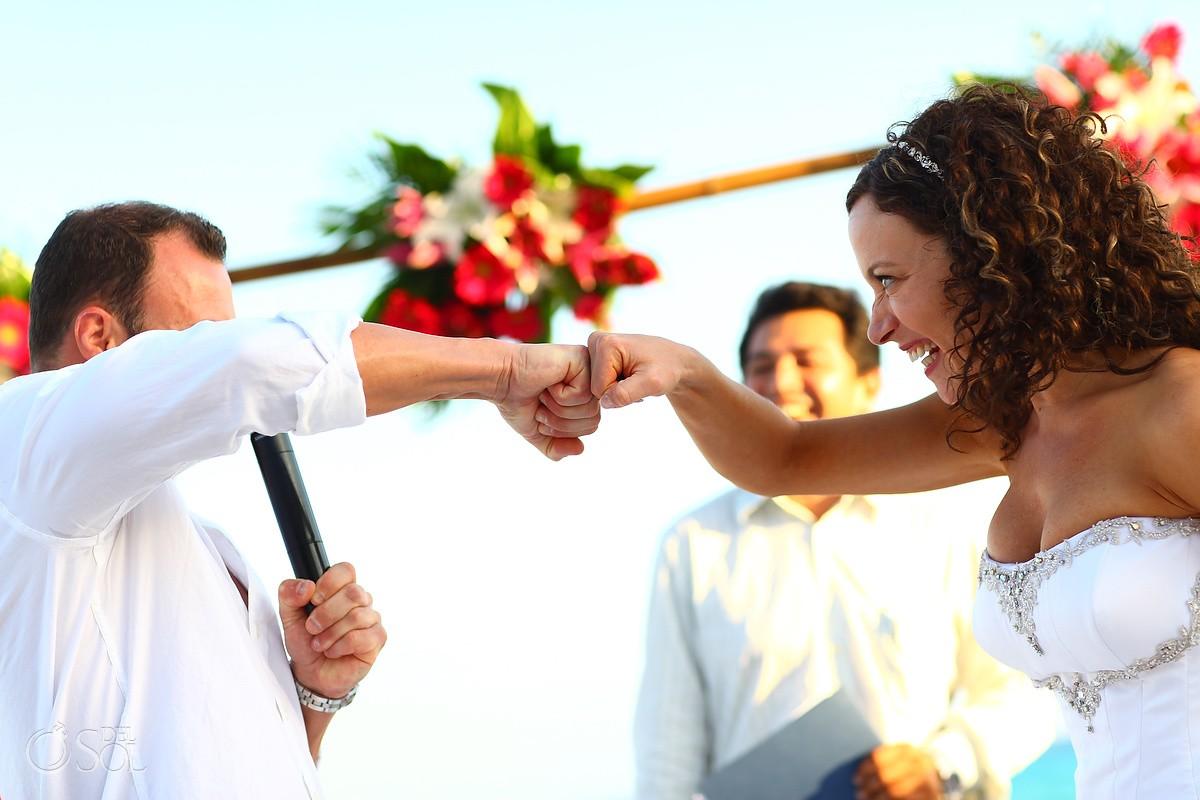 Sandos Playacar Destination Wedding
