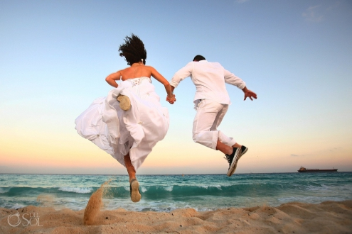 Sandos Playacar Destination Wedding