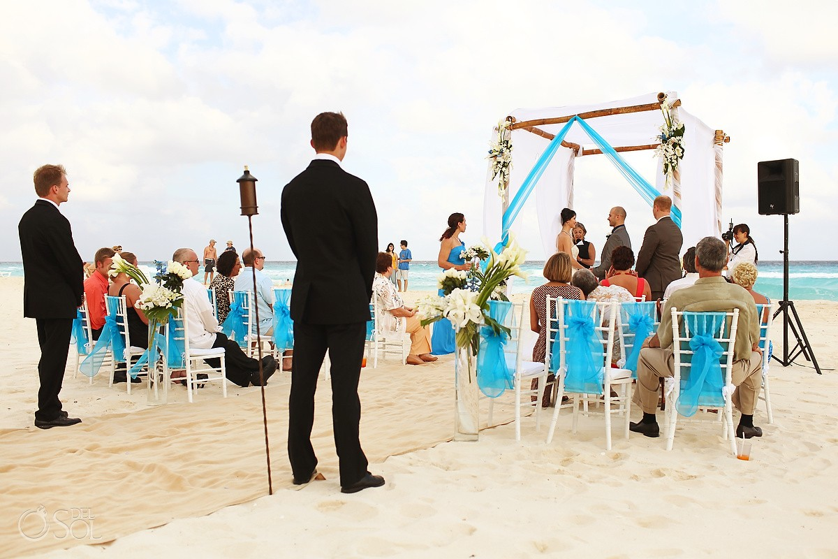 Cancun Wedding Fiesta Americana Condesa Ali And Pavel