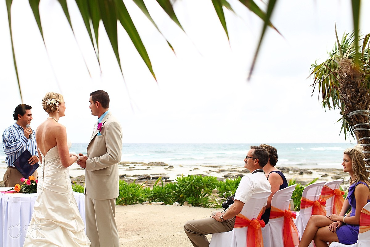 Riviera Maya Destination Wedding Barcelo Colonial Carla And Craig