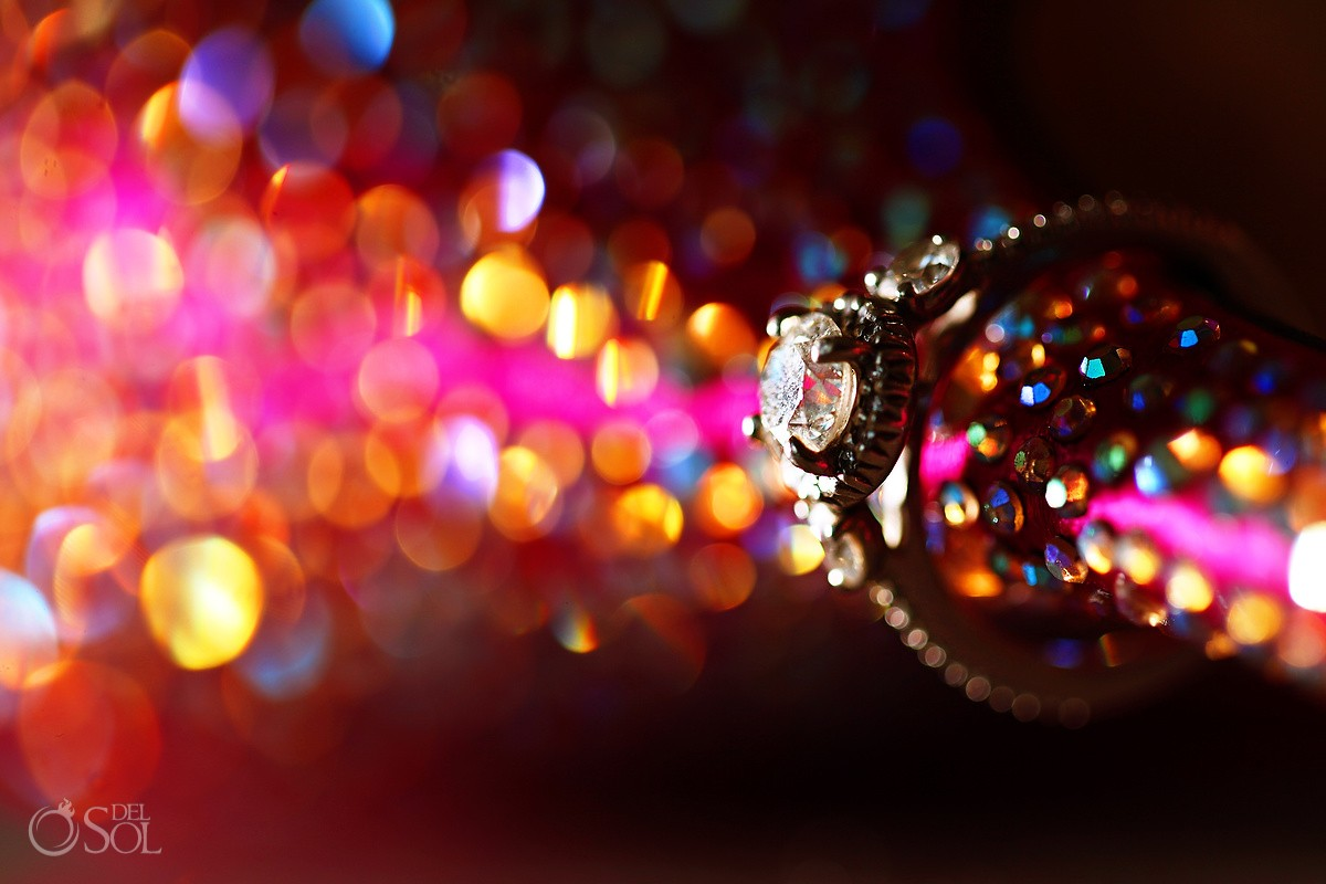 amazing ring shot engagement and wedding rings