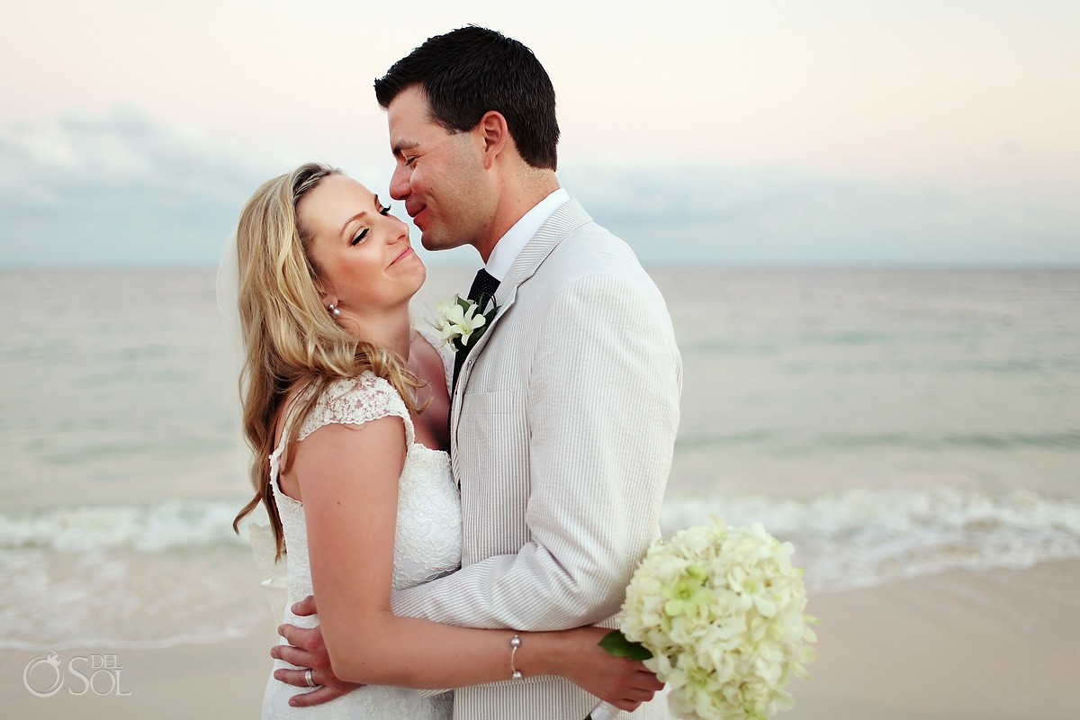 Bride and groom Now Sapphire Destination Weddings
