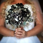 Check out Melissa's unique brooch bouquet dreams destination wedding