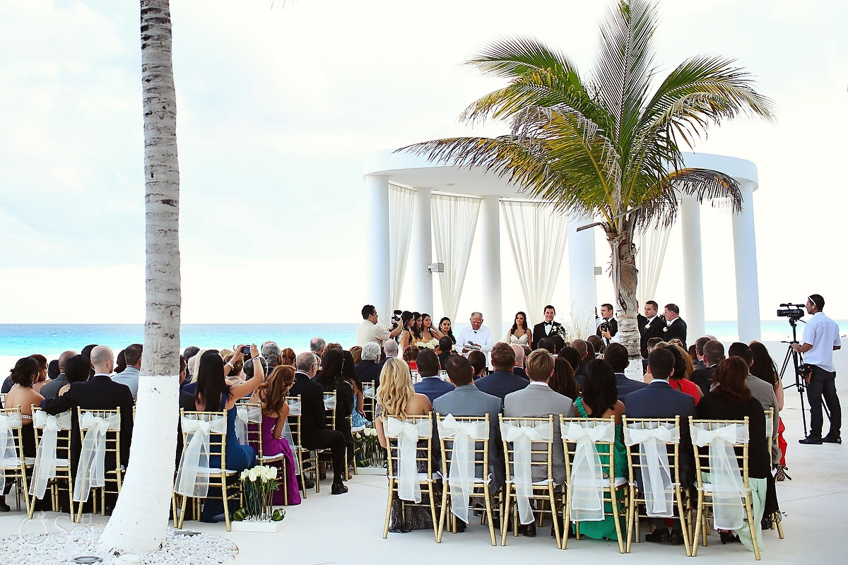 Mexico Destination Wedding At Le Blanc Cancun Melissa And Shawn