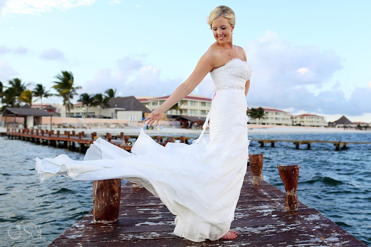 Cancun Wedding Moon Palace Resort Michelle And Dan Del Sol Photography