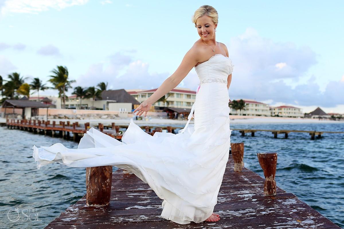 cancun wedding moon palace resort michelle and dan