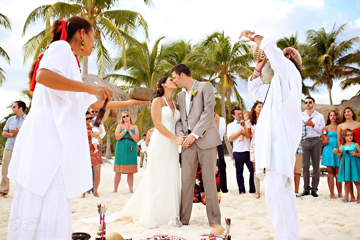 Tulum Wedding At La Zebra Sheri And Andrew