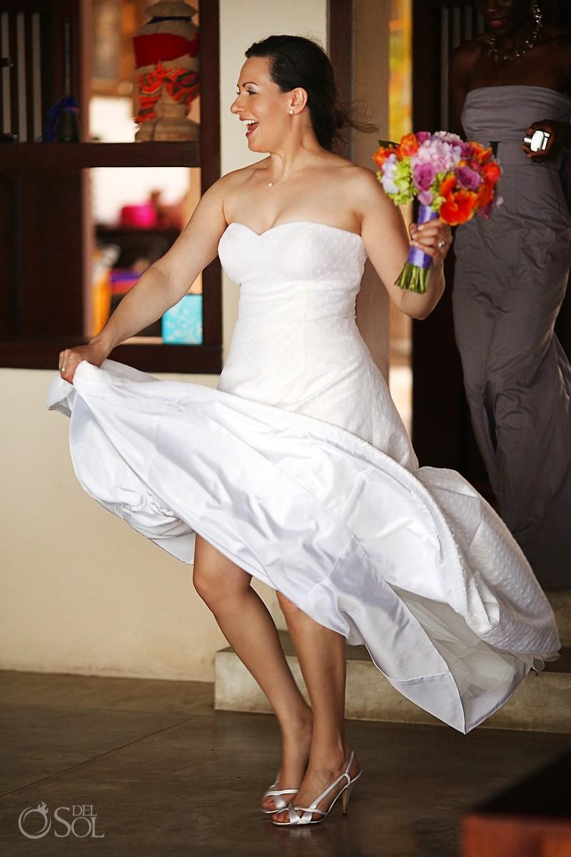 Bride Hacienda del Mar Destination Wedding