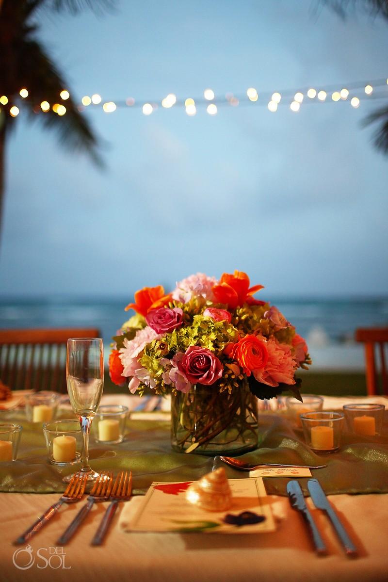 Hacienda del Mar Destination Wedding Reception Decoration