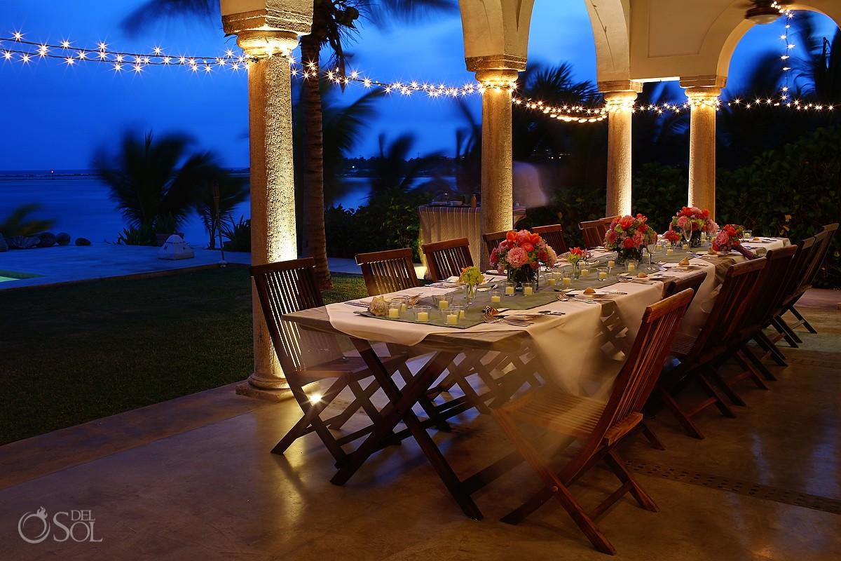 Hacienda del Mar Destination Wedding Reception Decorations