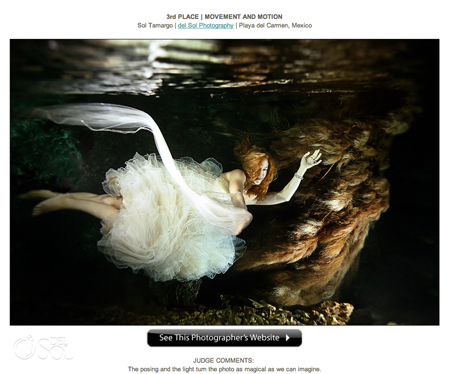 Wedding photography awards Sol Tamargo Del Sol Photography