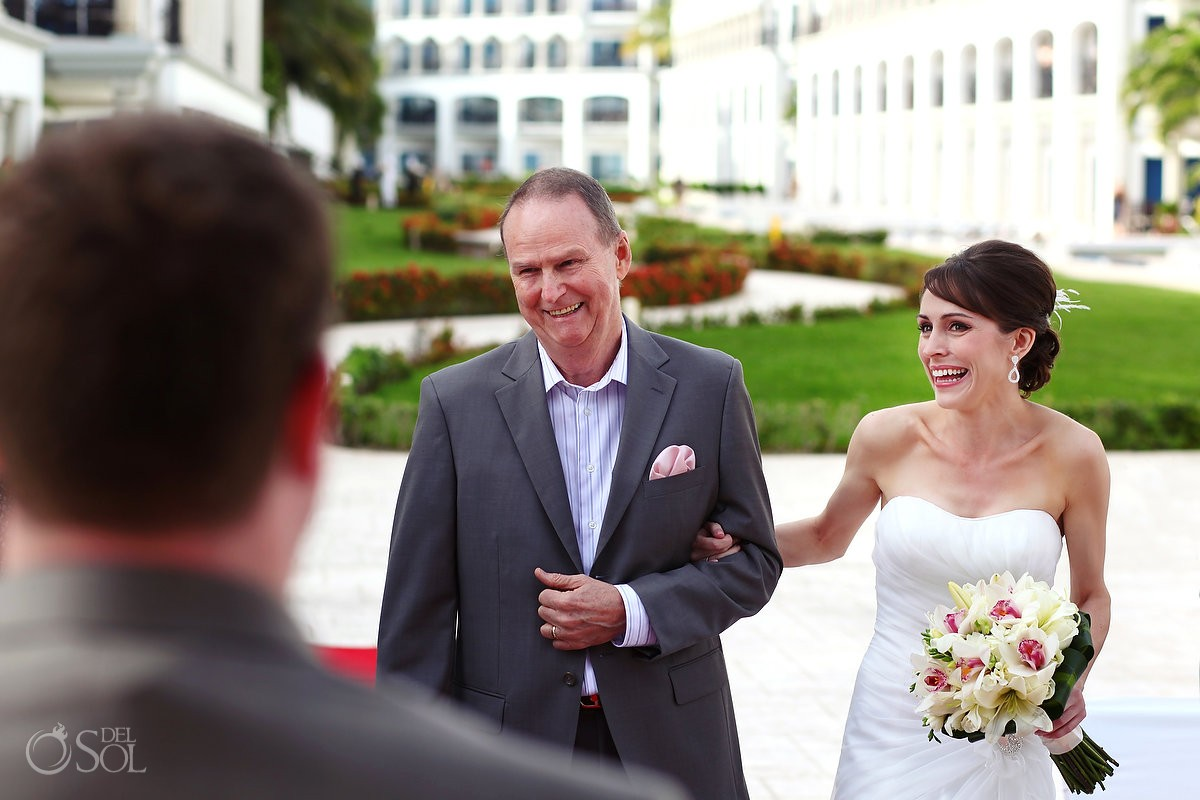 Christine Meston and Nick Deakin Wedding at The Royal Playa del Carmen, Riviera Maya, Mexico.