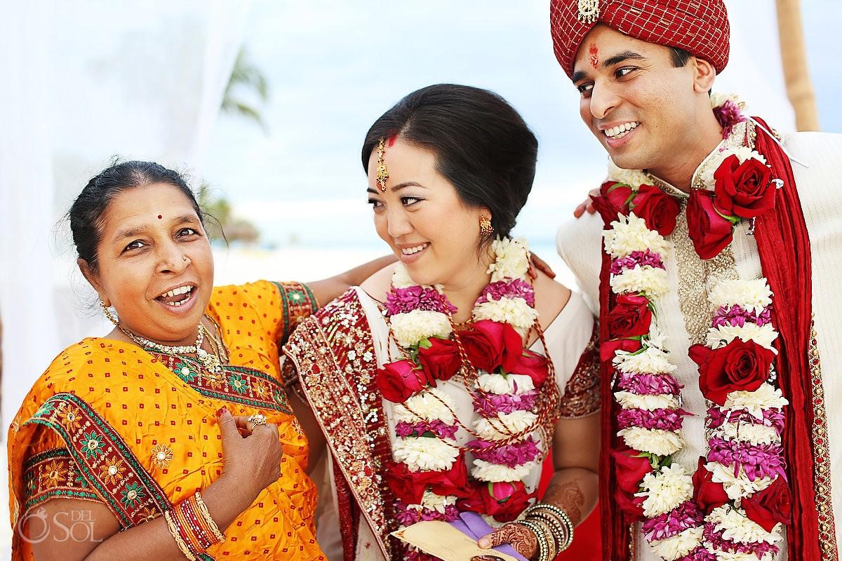Destination Wedding in the Hindu Tradition at Las Ranitas Tulum