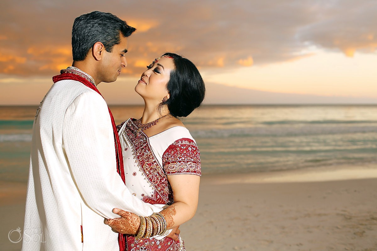 South East Asian Weddings bride and groom kiss