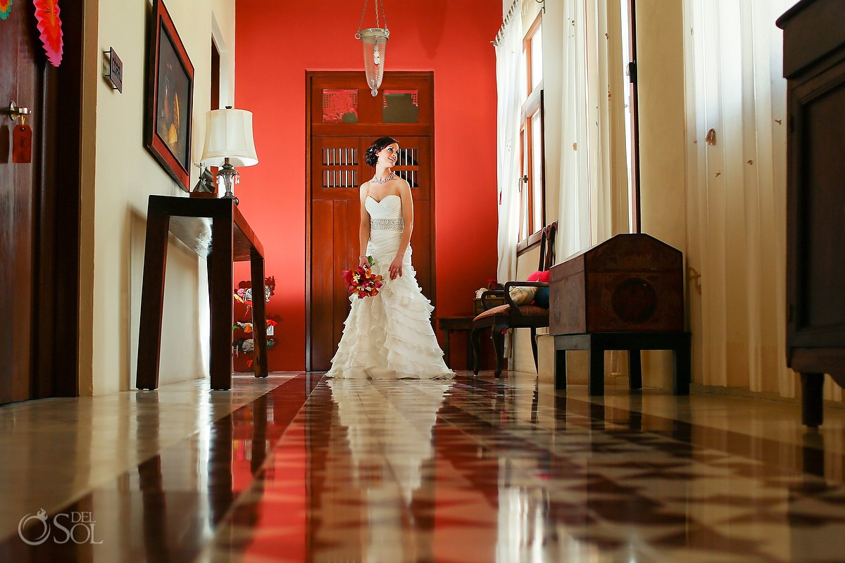 Bride Wedding at Hacienda del Mar