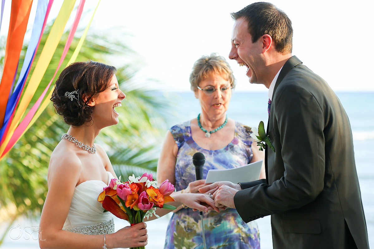 Jenna Johnson and Nick Ertz Wedding at Hacienda del Mar, Puerto Aventuras, Riviera Maya, Mexico.