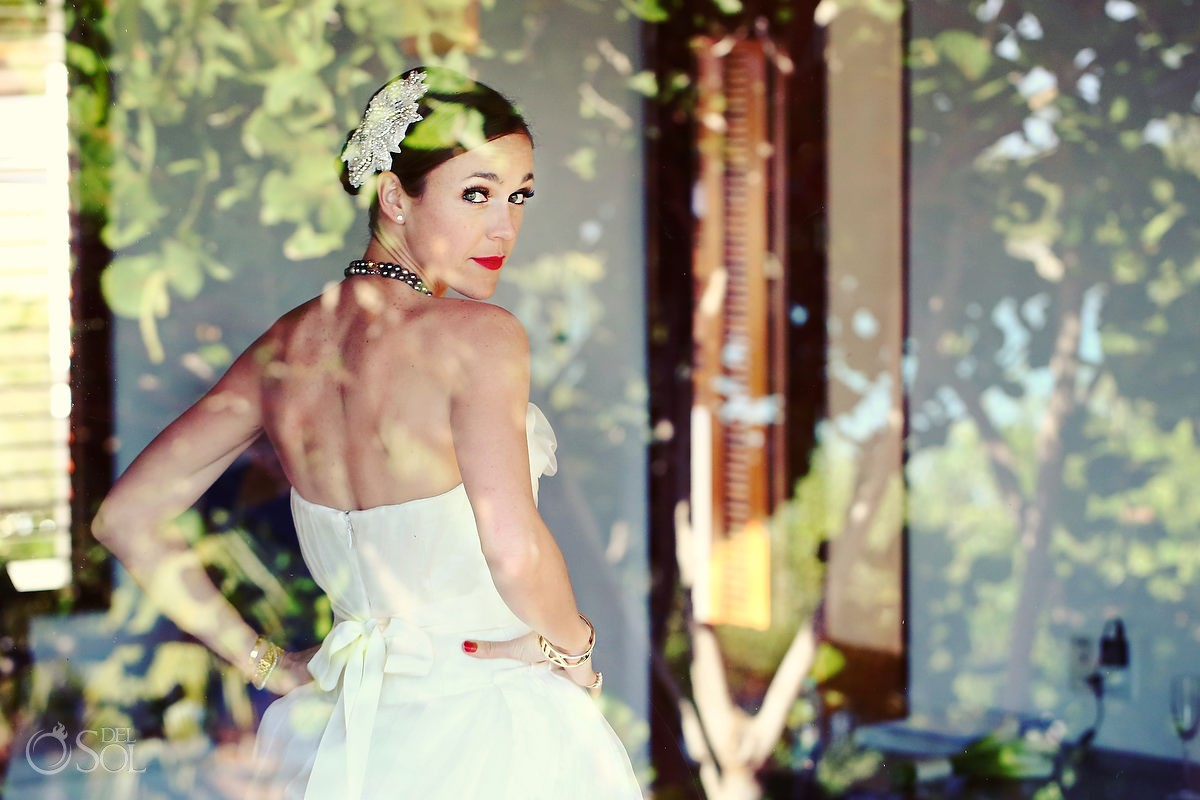 Hotel Esencia destination wedding bride
