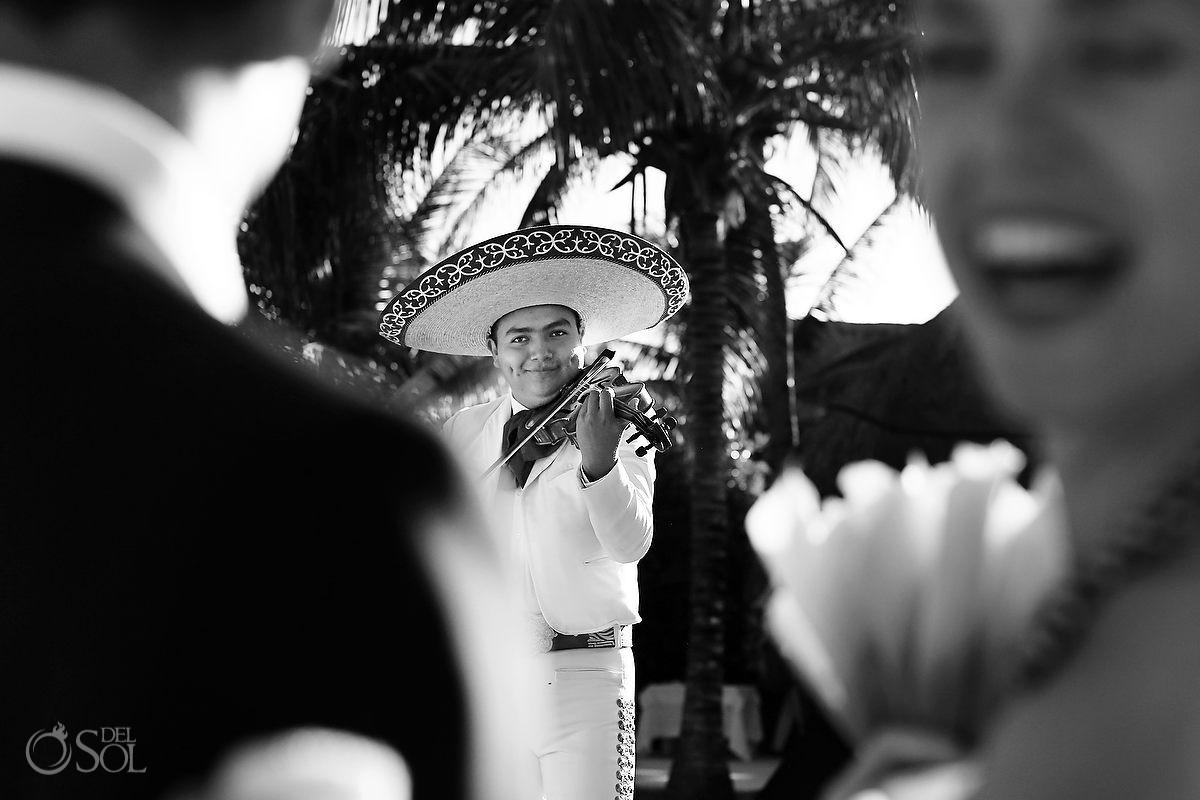 Hotel Esencia wedding mariachi Riviera Maya