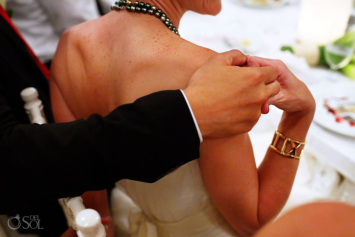 Hotel Esencia wedding bride groom