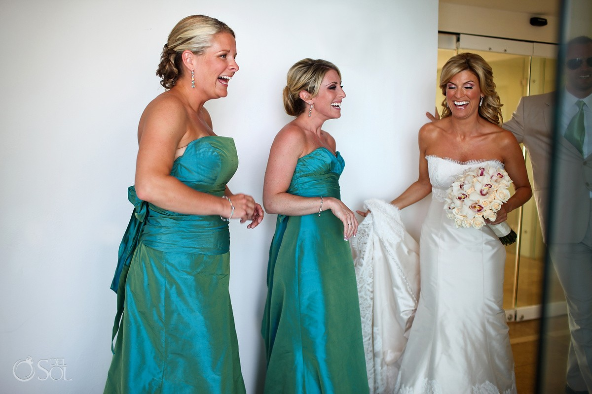 Cancun Wedding at Le Blanc Resort - Trish Suhr and Dave McCoul
