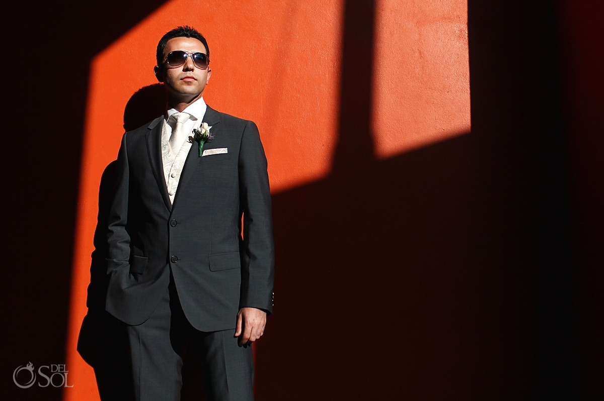 Groom Portrait Secrets Silversands Wedding