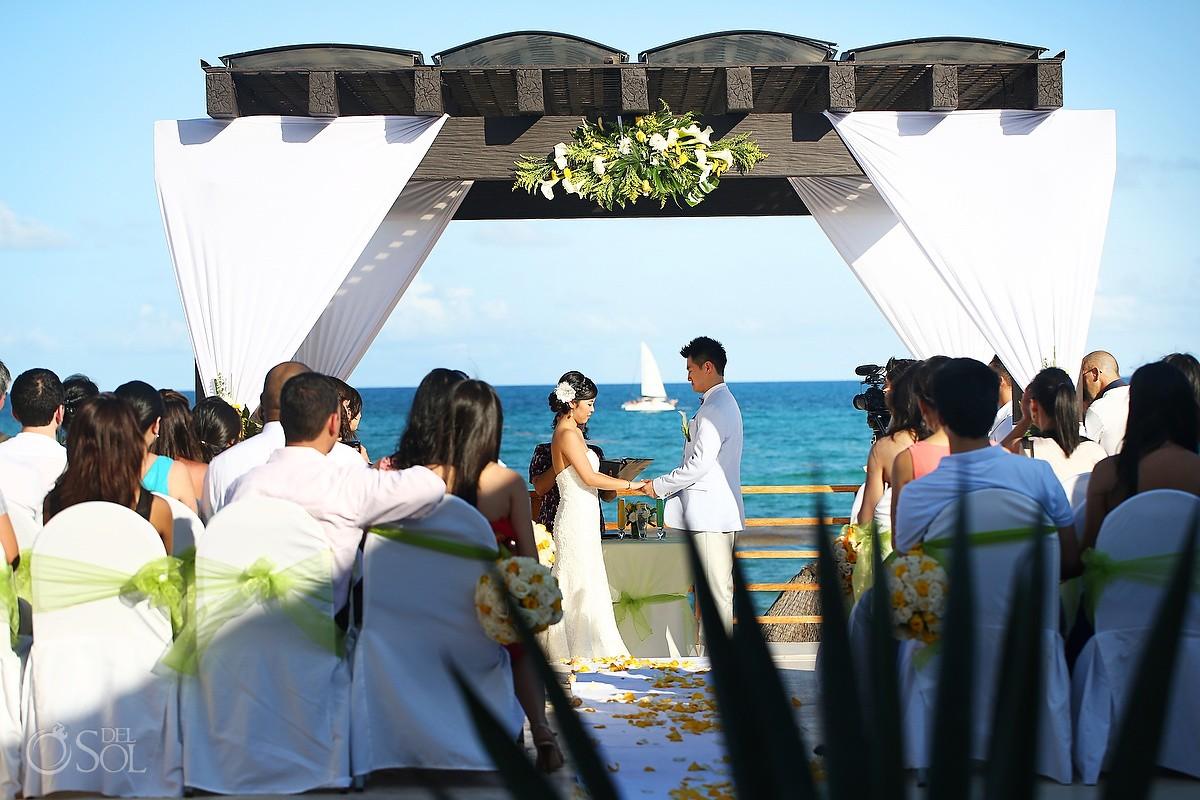 Mexico Destination Wedding Now Jade Resort