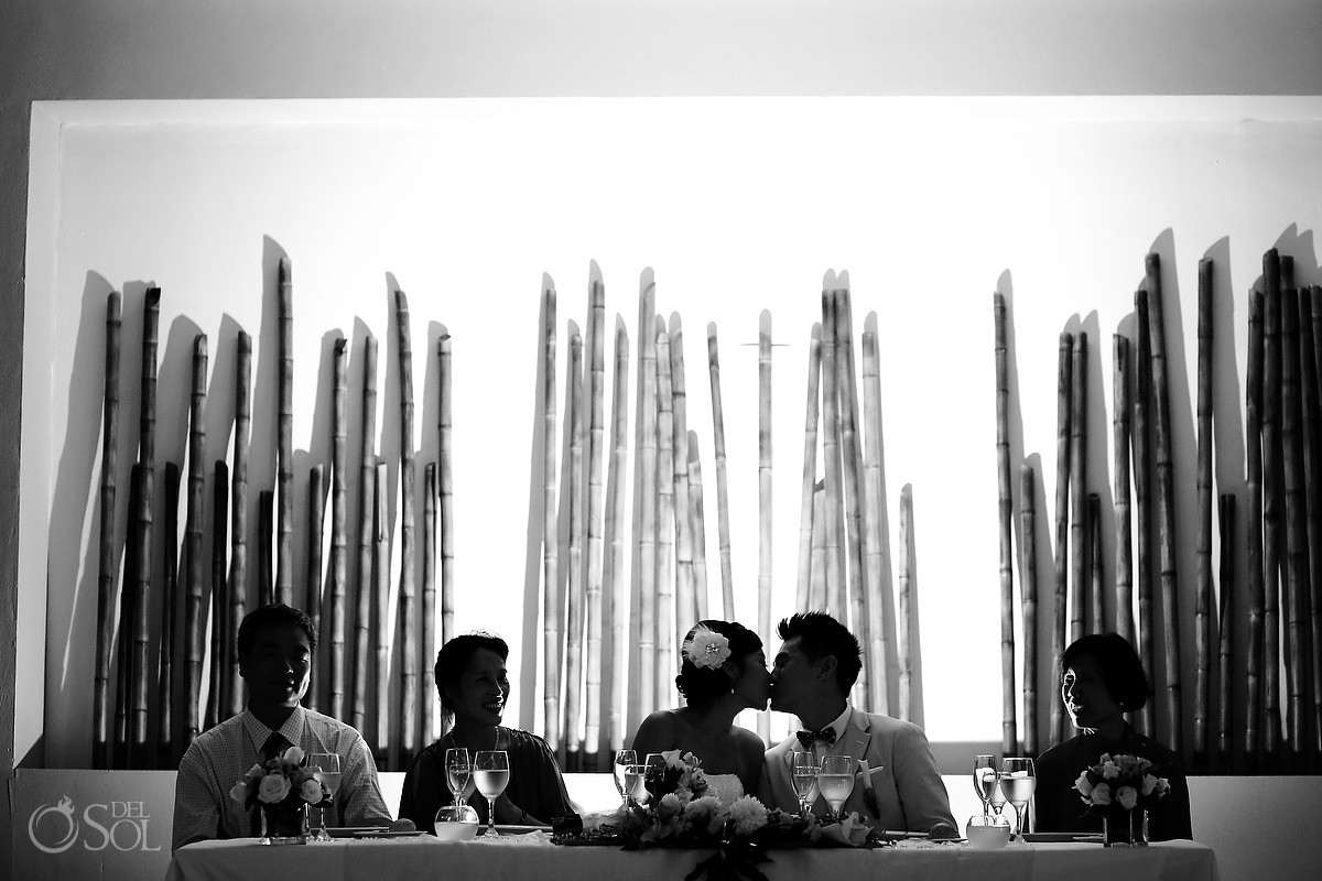 Bamboo Room Mexico Destination Wedding Now Jade Resort
