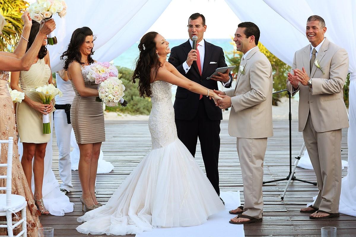 gabi bridge paradisus la perla destination wedding