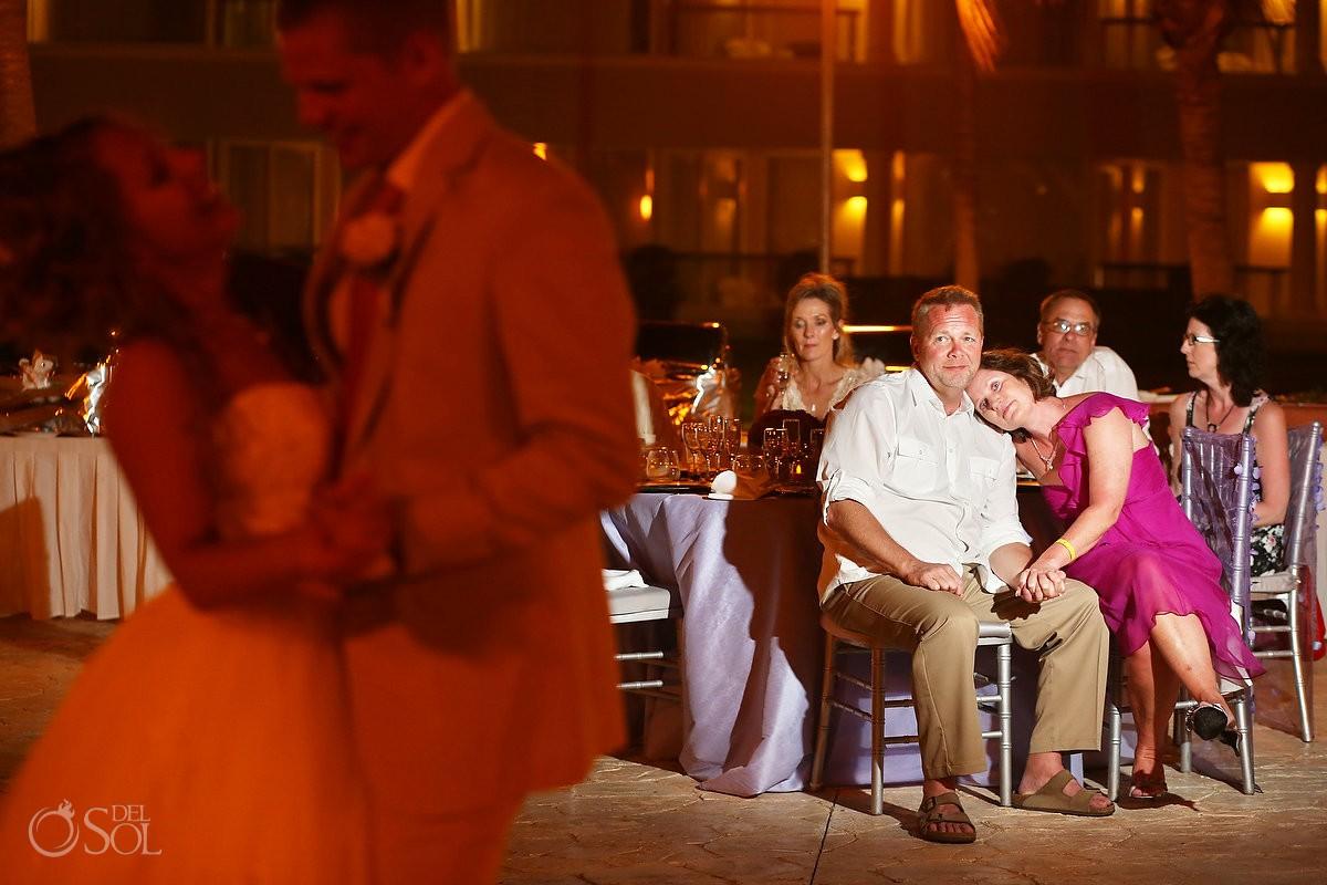 Wedding reception at the Moon Palace Resort Mexico