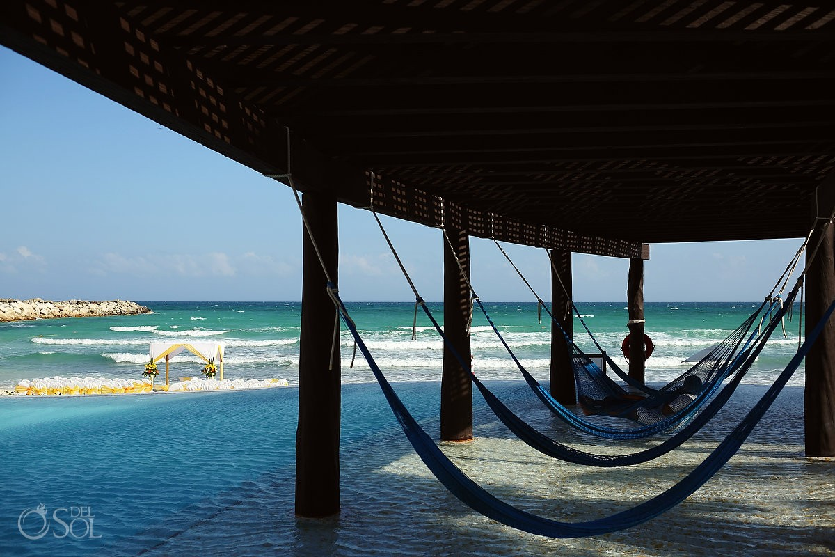 Hammocks Now Jade weddings Resort Riviera Maya