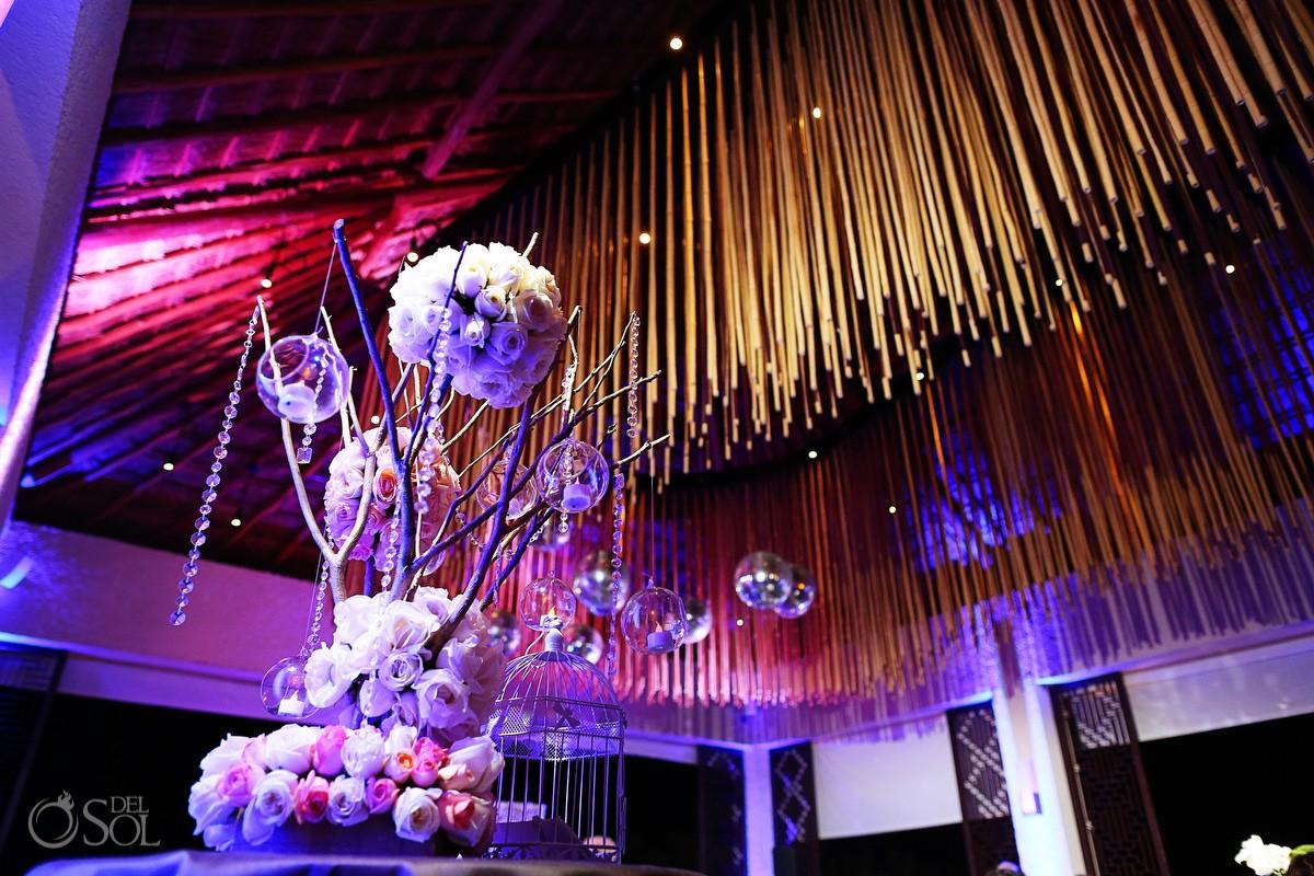 Gabi beach Club Wedding reception at Paradisus La Perla, Playa del Carmen