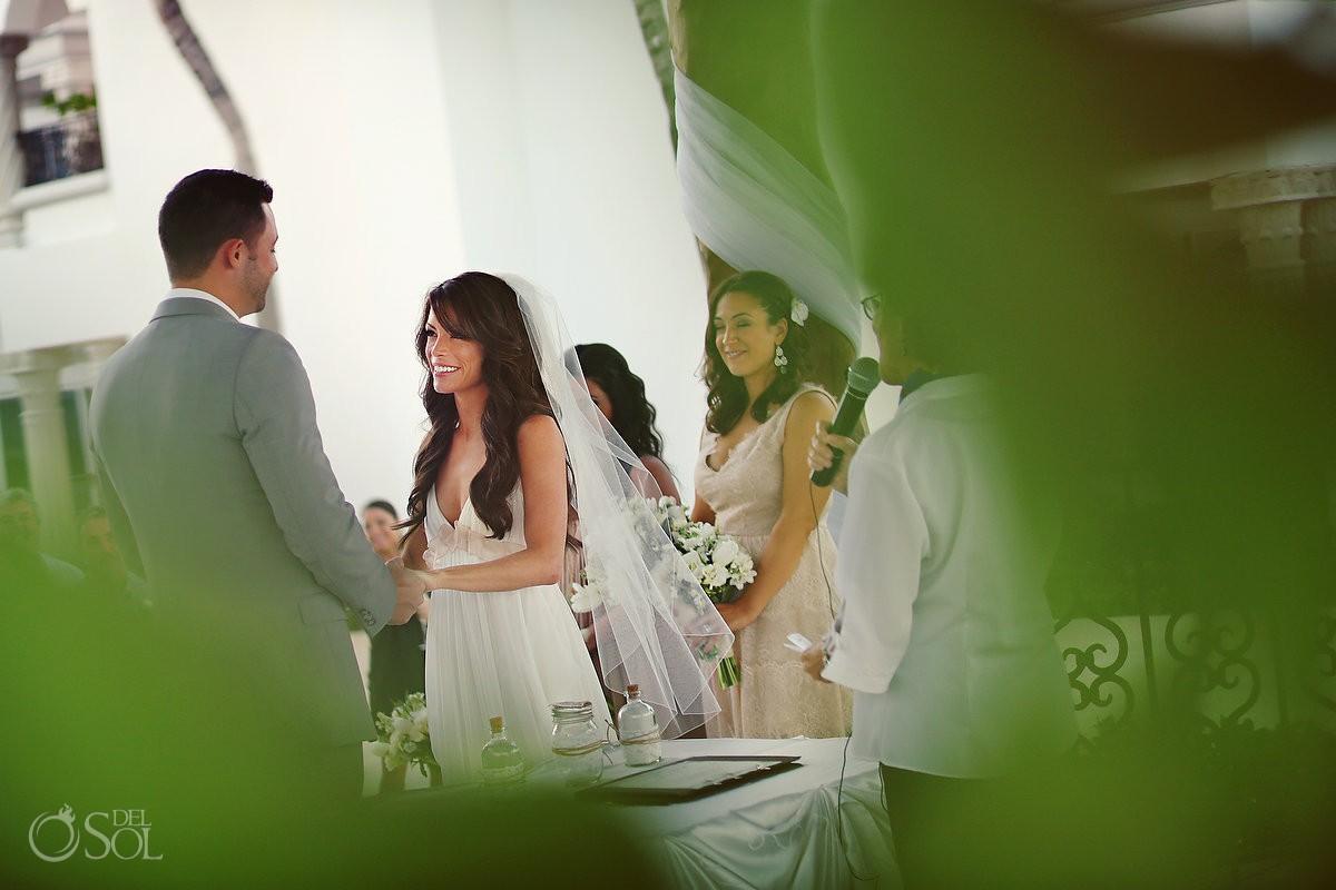 Destination wedding at The Royal Playa del Carmen, Mexico