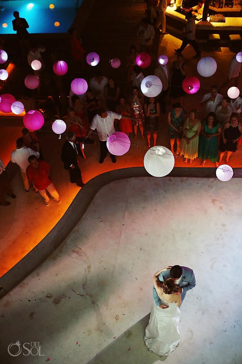 Kool Beach Club Playa del Carmen wedding reception