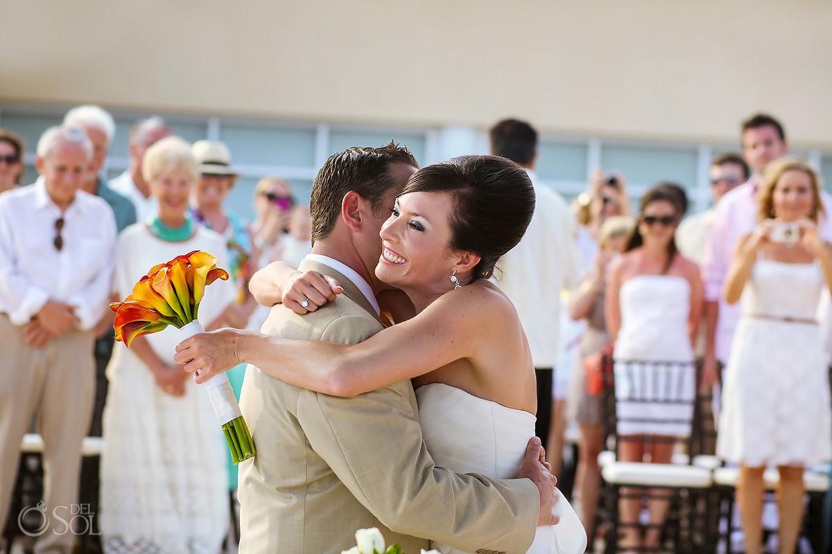 Destination Wedding Now Jade Resort newlyweds