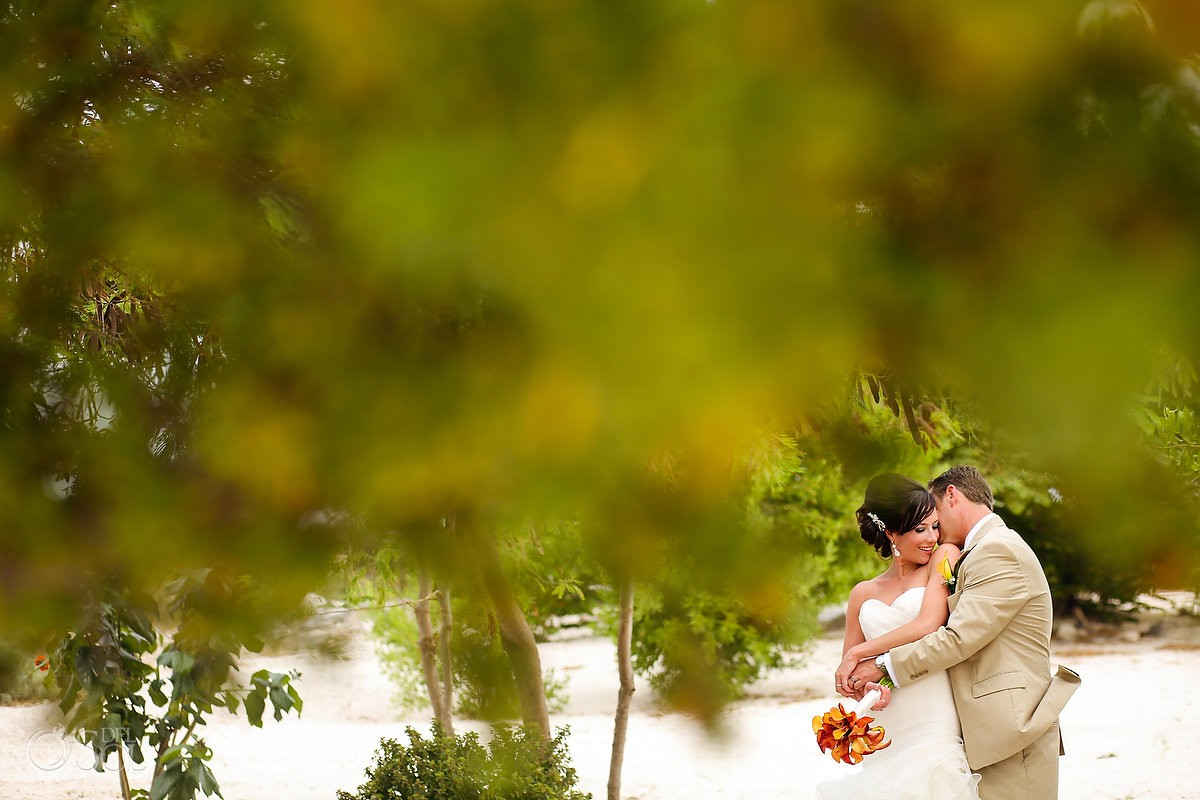 Now Jade Resort wedding newlyweds