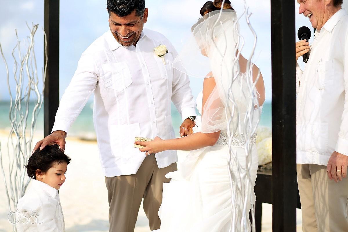 Moon Palace beach wedding Cancun, Mexico