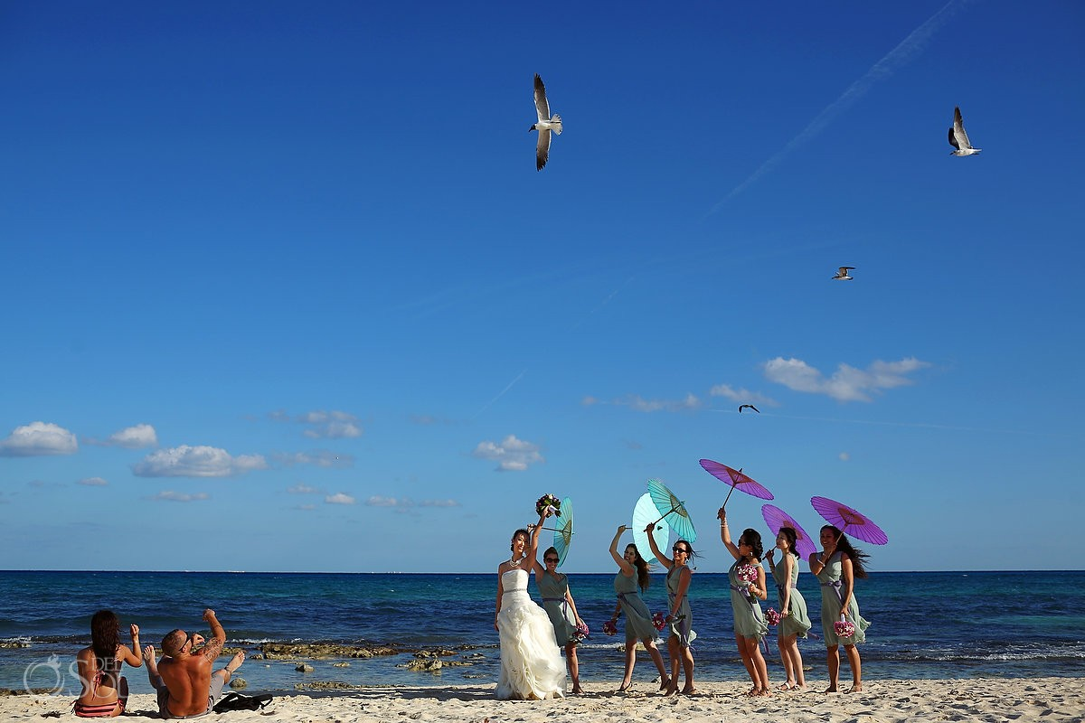 Mexico beach wedding Riviera Maya