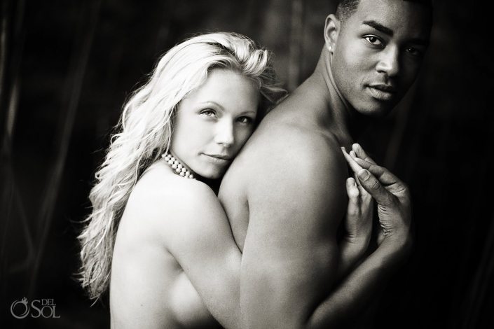mixed racial couple Portrait