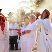 40 year vow renewal in Mexico