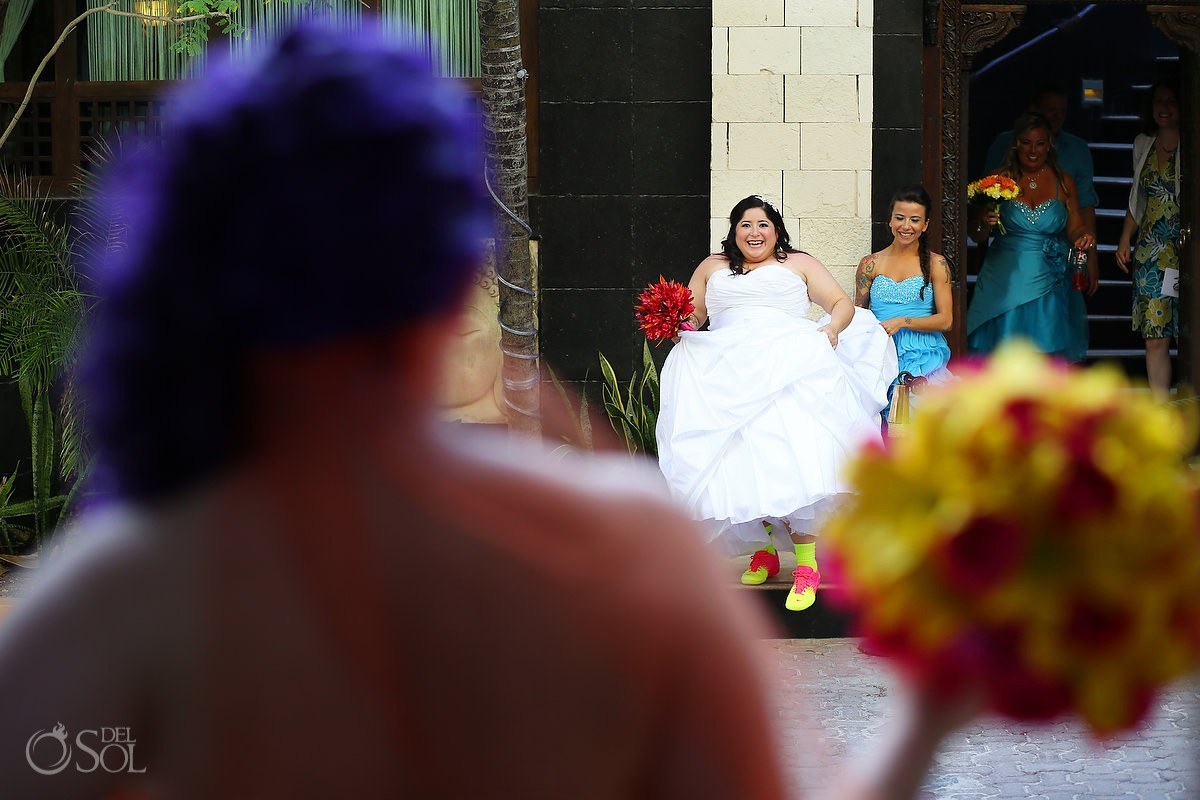 Playa del Carmen Mexico same-sex wedding
