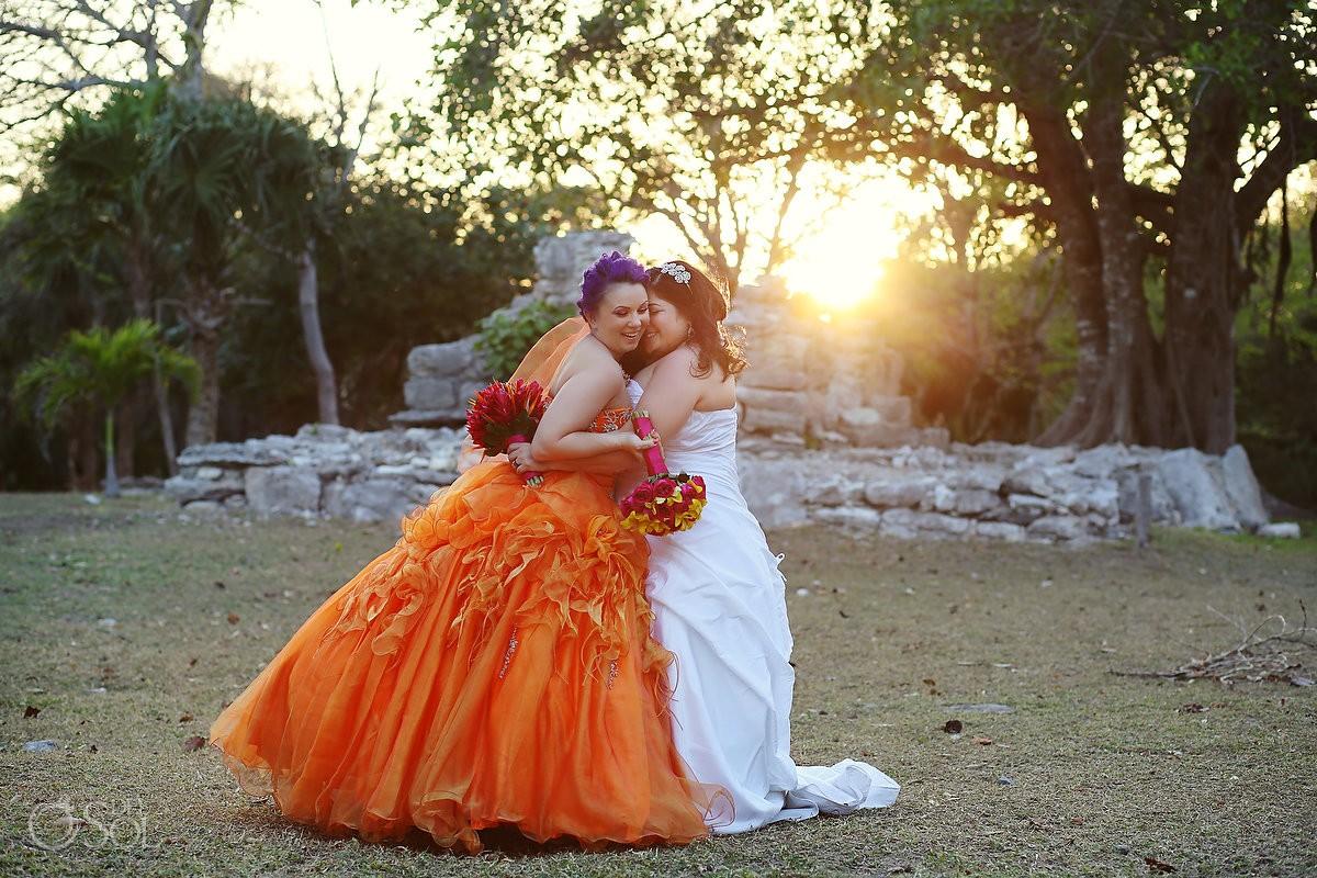 Same-sex wedding Playa del Carmen
