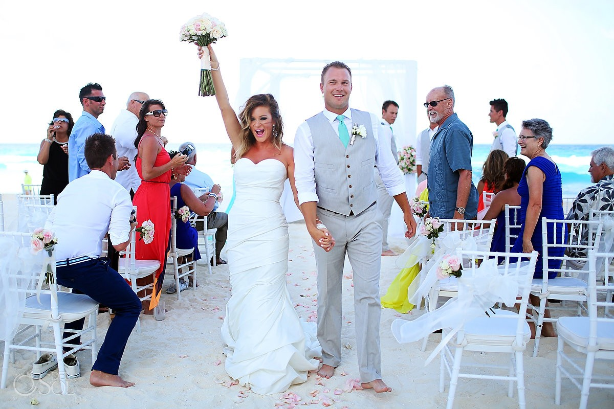 Cancun Beach Wedding At Jw Marriott Natalie And Jason Del Sol