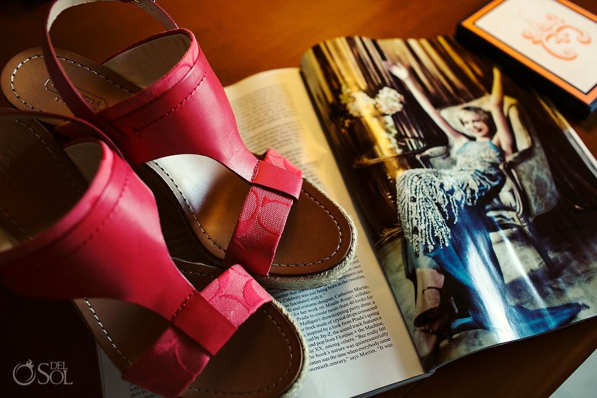 shoes for a destination wedding beach